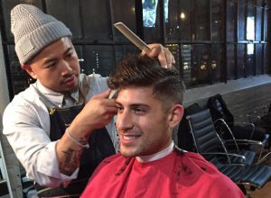 barber shop in Melbourne